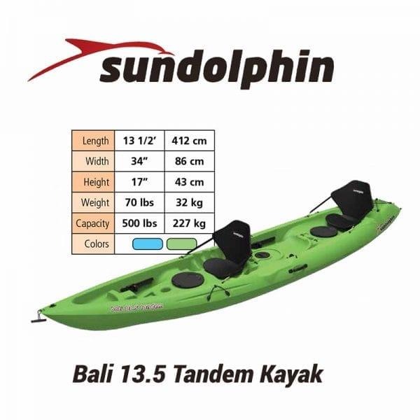 Bali 12.5 Tandem Kayak Rental