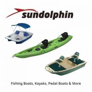 Sundolphin Boats, Kayaks, Pedal Boats & More