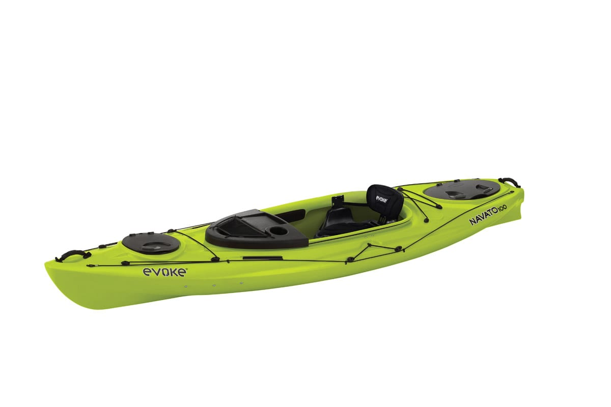 Evoke Navato 100 Sit In Recreational Kayak Eastern