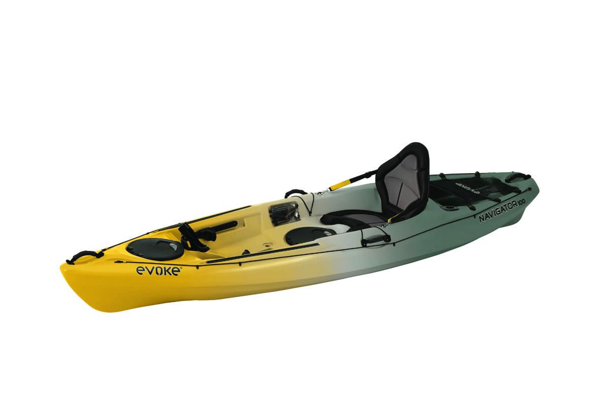Evoke navigator 100 sit on fishing kayak eastern for Sit on fishing kayak